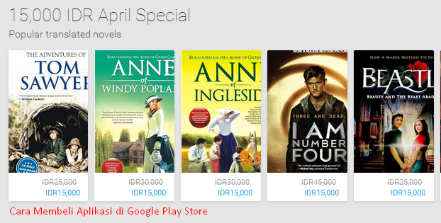 Cara aplikasi di google play store