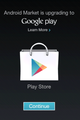 google play android market 39 s new name. Black Bedroom Furniture Sets. Home Design Ideas