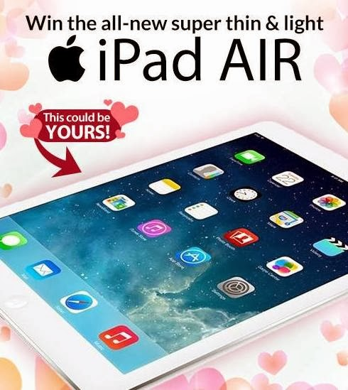 Apple iPad Air Giveaway From CashCashPinoy