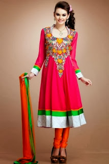 Embroidered Anarkali Suits Collection