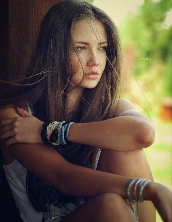 اجمل صور بنات حزينه مكتوب عليه كلام حزين جدا - صور بنات تعبر عن الحزن اشديد