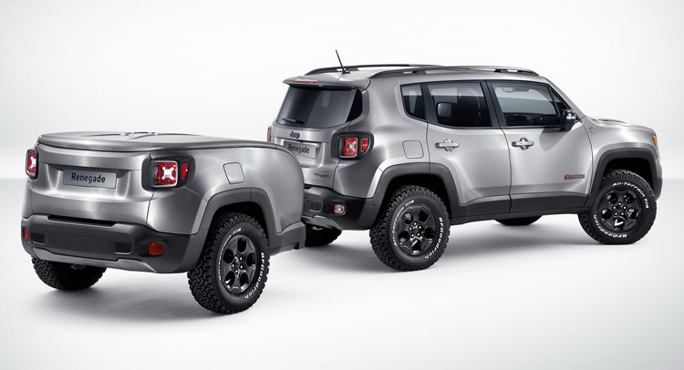 jeep renegade gets a trailer sidekick with hard steel concept for geneva. Black Bedroom Furniture Sets. Home Design Ideas