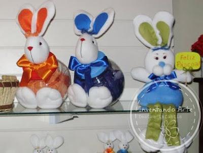 coelhos tecido pascoa 2011 venda comprar ponta grossa