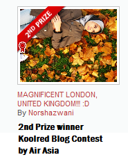 Blog Contest Winner 2011