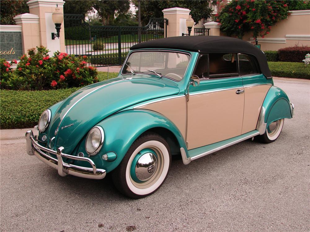 Florida Coal Cracker Chronicles: 1956 VOLKSWAGEN - My Very First Car