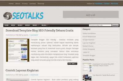 Download Template Blogger Terbaru