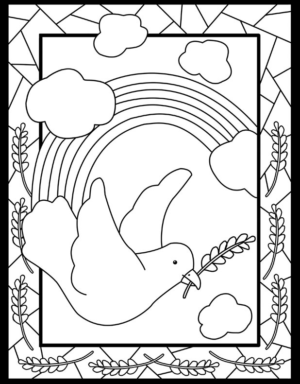 Inkspired Musings International Day Of Peace Peace Day Coloring Pages