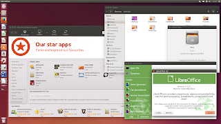 Ubuntu 14.10 screenshots