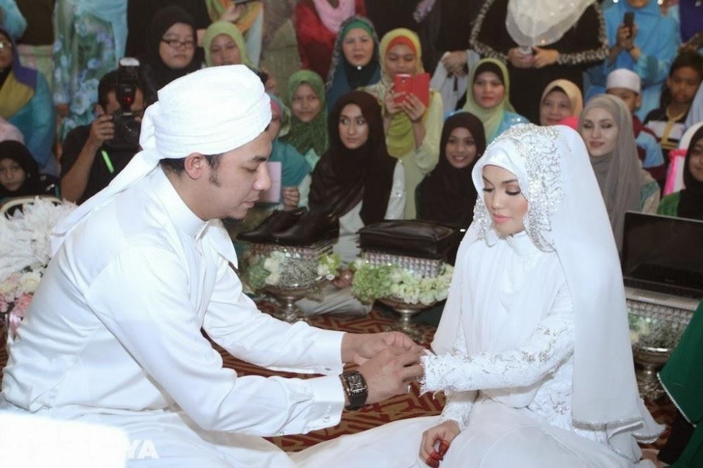 Syamsul Yusof dan Puteri Sarah Liyana Selamat Bernikah