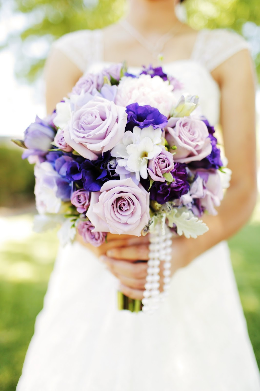 Ocean Song Rose Bouquet ocean song lavender roses