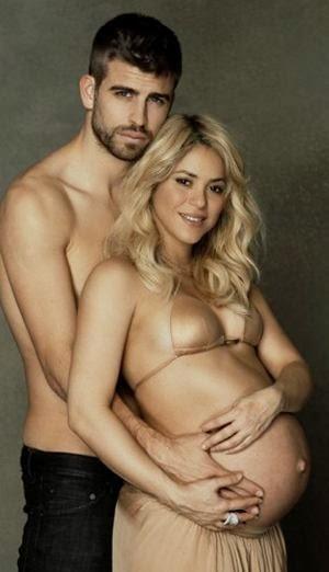 Shakira y Piqué celebran el nacimiento de su segundo hijo