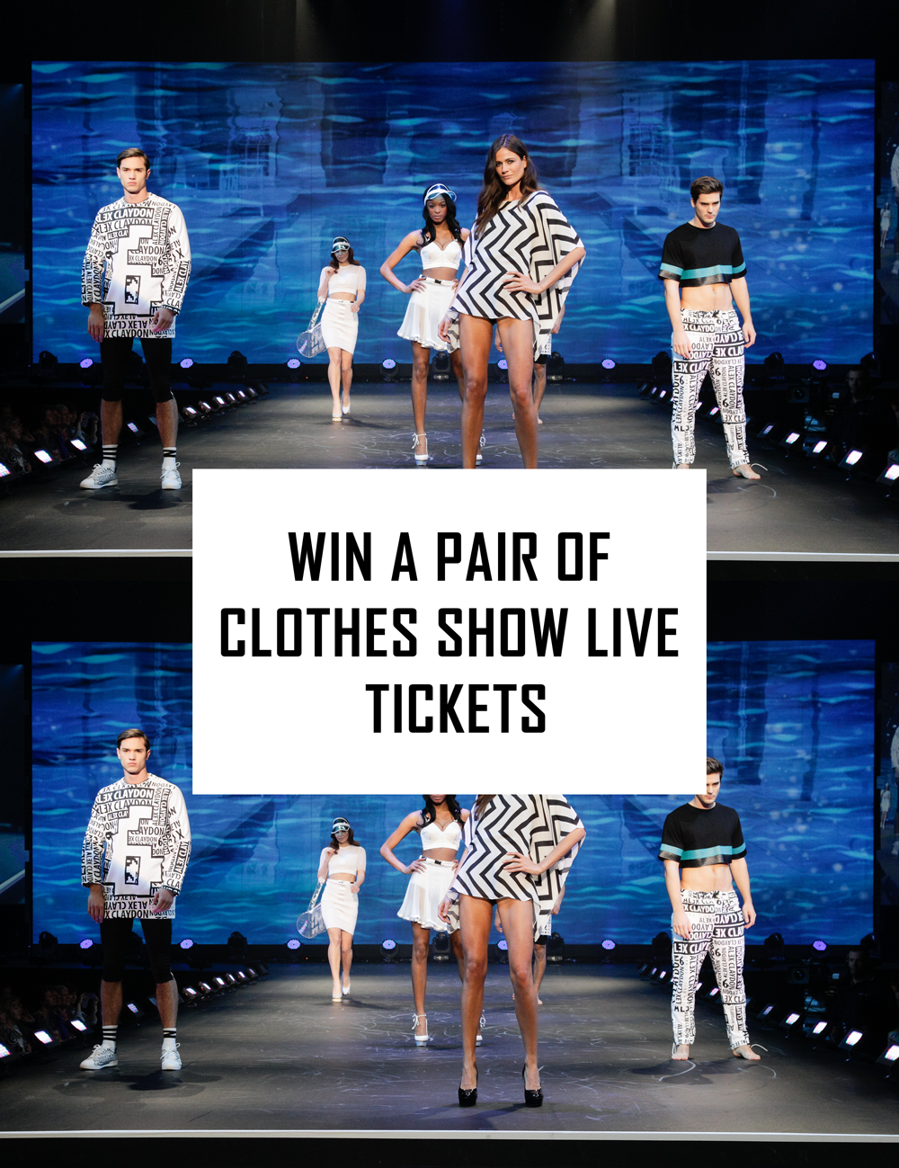 A beauty blogger hosts a competition to WIN A Pair of Clothes Show Live Tickets