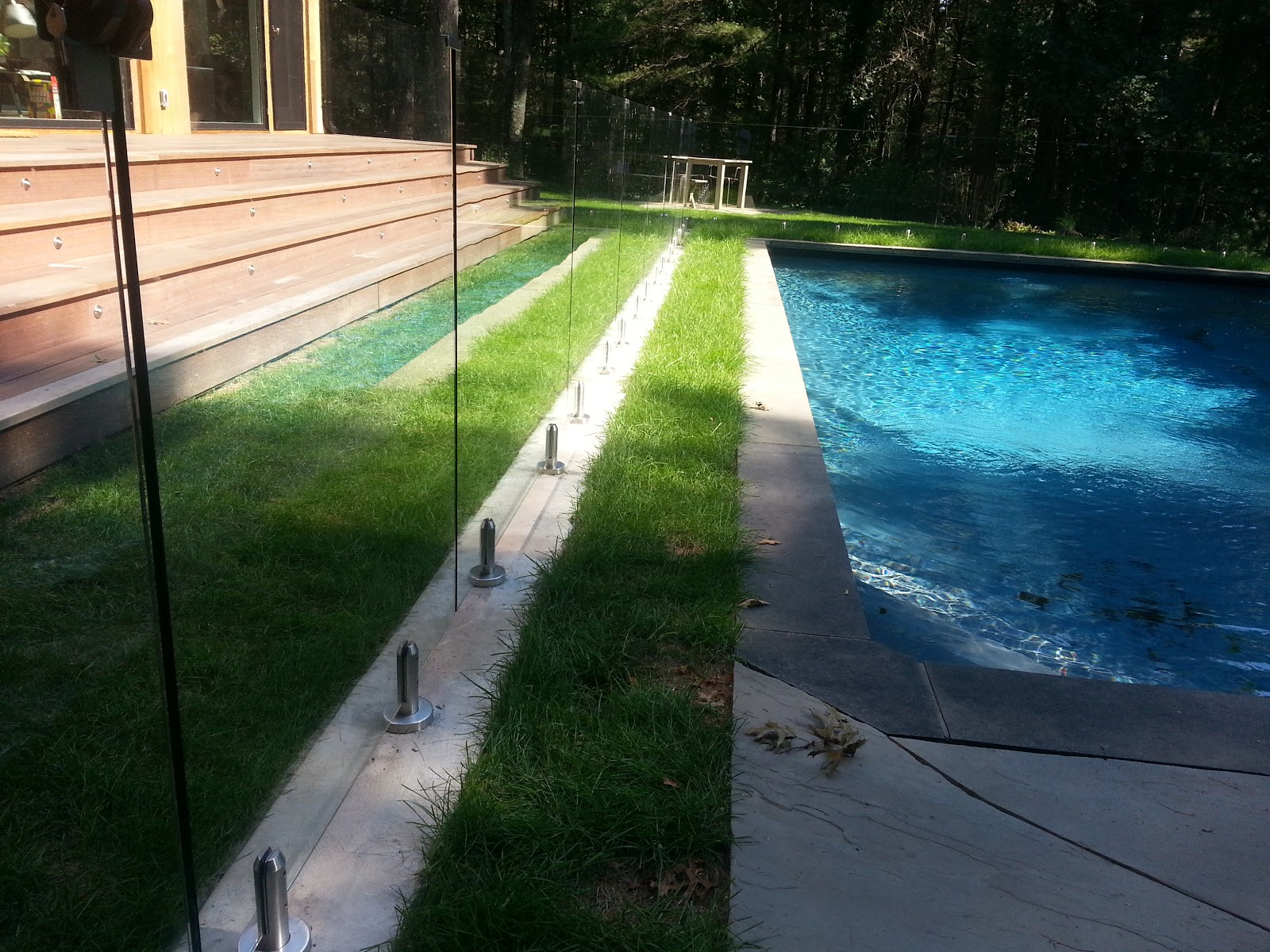 Frameless Glass Pool Fence East Hampton LI
