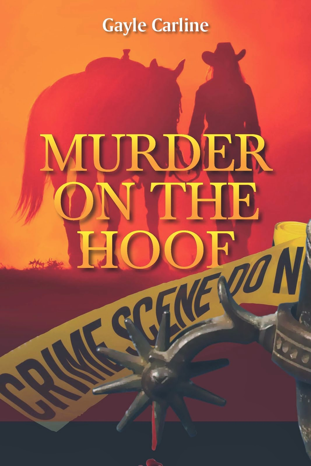 Murder on the Hoof on Amazon