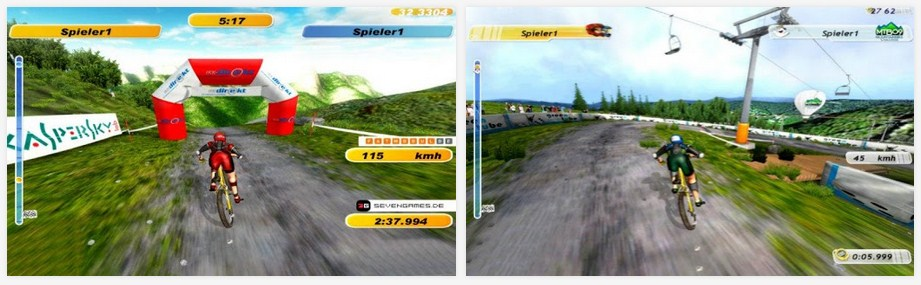 Downhill Bike Game Untuk Android