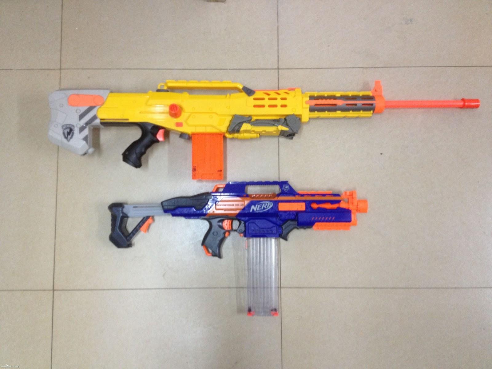 Rumours Nerf N Strike Elite Rapidstrike CS 18 detailed pics I ll take several thanks