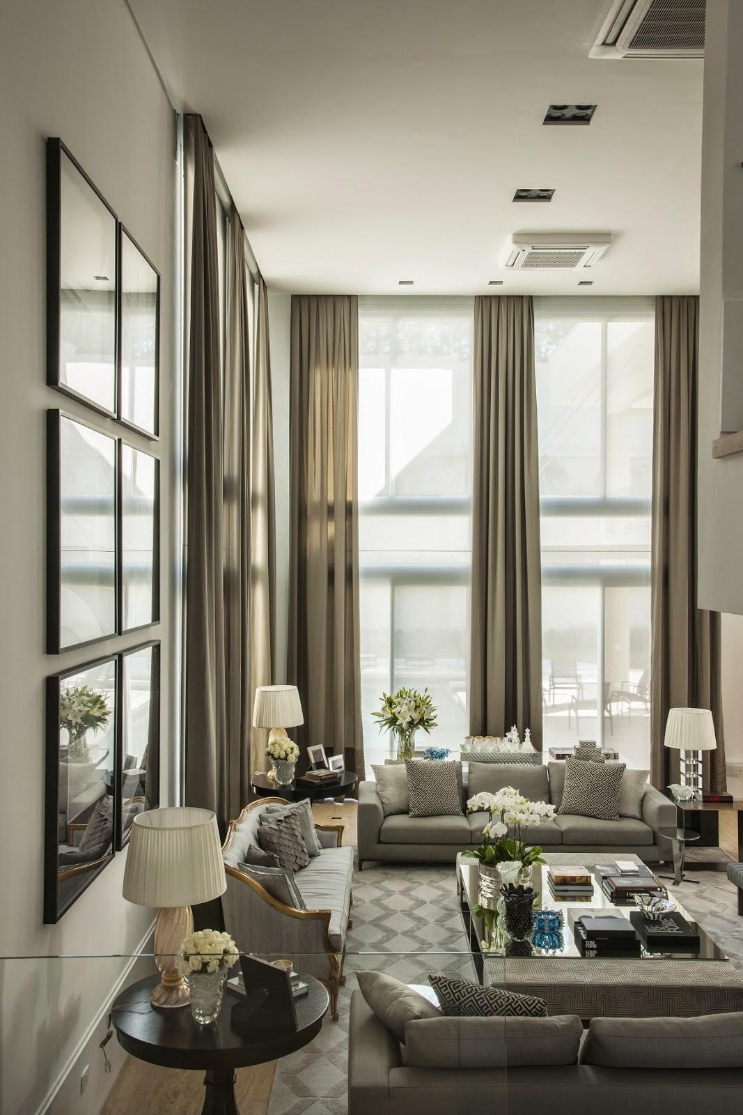 Sala bapho decorada em 50 tons de cinza confira todos for Avenue u living room