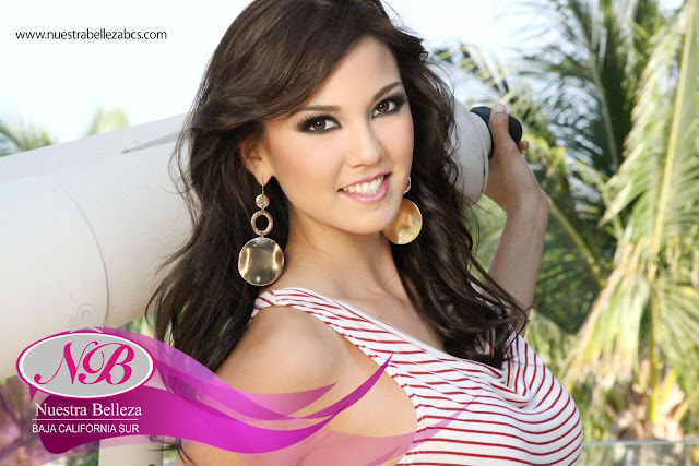 Miss International Mexico 2012: Jessica García Formenti