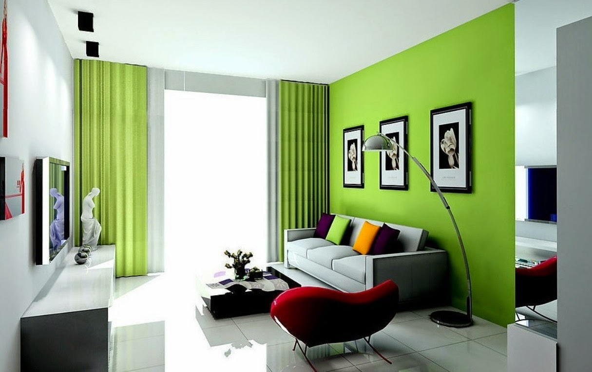 Decorating Ideas for Green Living Rooms