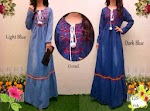 114 Gamis Jeans Bordir SOLD OUT
