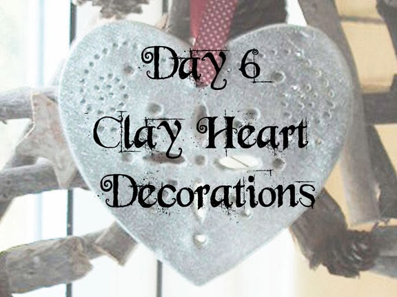 Clay Heart Decorations