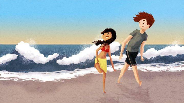 8 Amazing Artworks That Illustrate True Love - Appreciating Time Outside