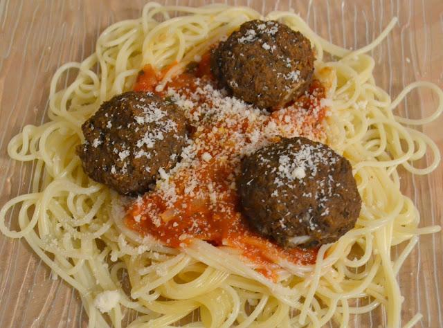 recette, végétarienne, spaghettis, bolognaise, lentille, steak végétarien, végétarien