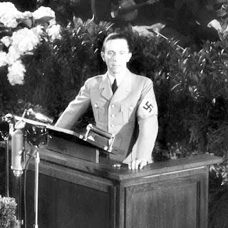 Paul Joseph Goebbels: Ministro da Propaganda do Reich na Alemanha Nazista.