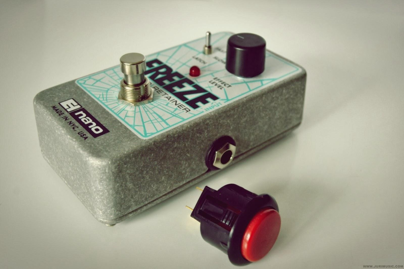 Electro-Harmonix Freeze Switch Mod | www.jurimusic.com - Live ...