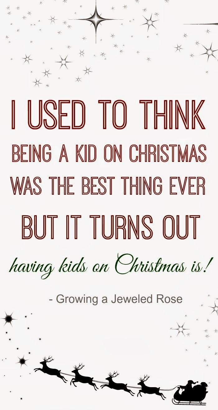 Make Christmas Magical for Kids | Growing A Jeweled Rose