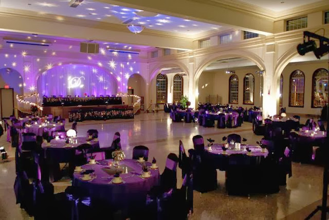 Magic prom party ideas for prom venues for Ball room decoration