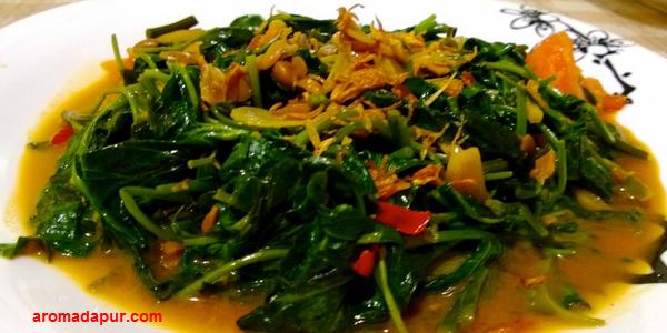 Resep Cah Kangkung Terasi Enak dan Lezat aromadapurdotcom