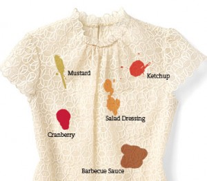 Lap band gal stained shirt club a non scale victory for Remove coffee stain from shirt