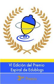 PREMIOS ESPIRAL EDUBLOGS 2012