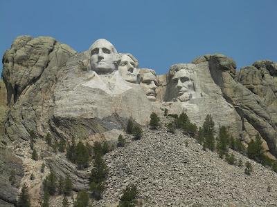 mount Rushmore, monte Rushmore, montañas esculpidas