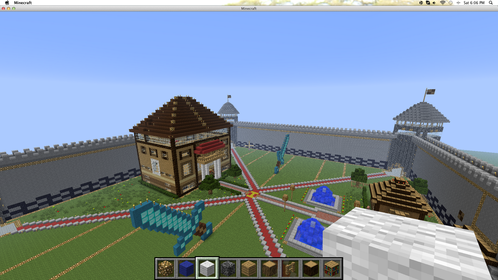 Biggest Minecraft House In The World 2014 plain biggest house in the world minecraft nicest ever intended