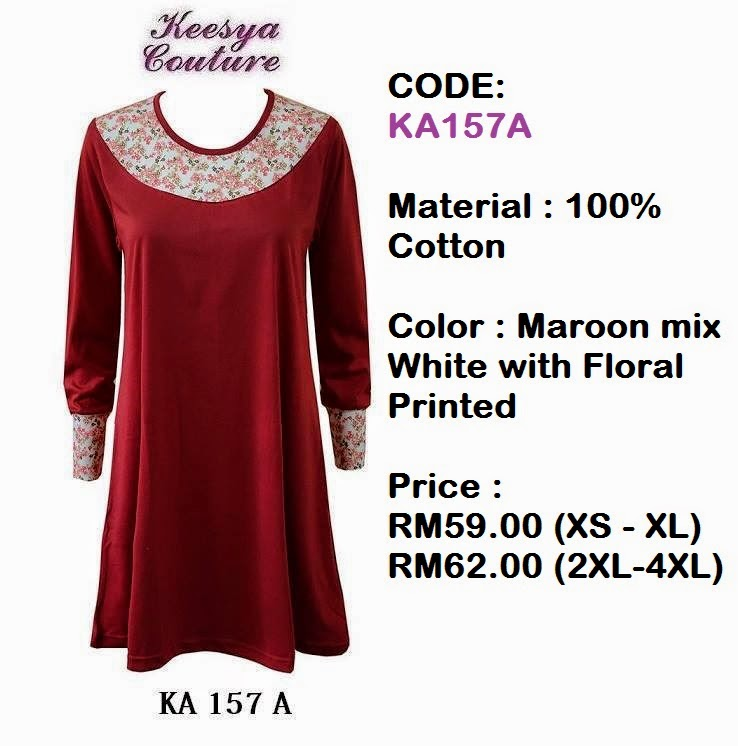 T-shirt-Muslimah-Keesya-KA157A