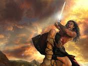 Conan el bárbaro.