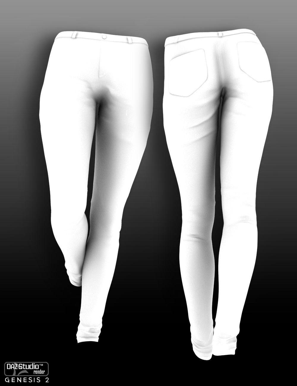 Bonbons Slims Jeans pour Genèse 2 Femme
