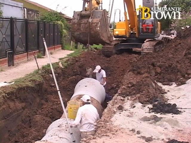 Visi n diario del conurbano sur brown nuevos pavimentos for Pavimentos y suministros del sur