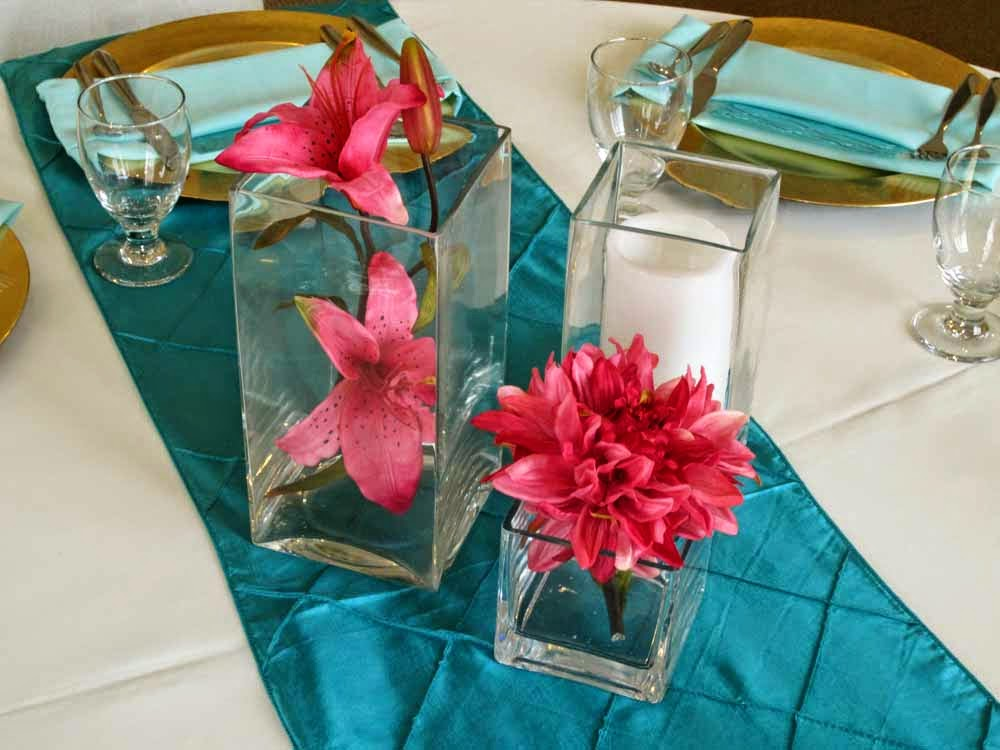 Get The Look Teal And Gold Wedding Reception Elite Events Rental