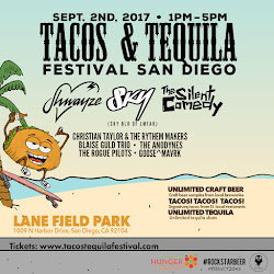 Save on passes to the San Diego Tacos & Tequila Festival - September 2!
