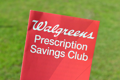 Walgreens Prescription Savings Club Pamphlet