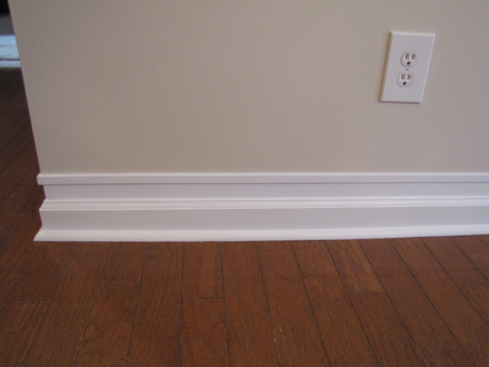 Cheriesparetime Beefed Up Baseboards