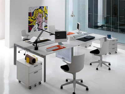 Home Office Design with Innovation Executive Office Furnishing Ideas
