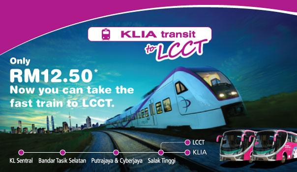 KLIA transit ke LCCT
