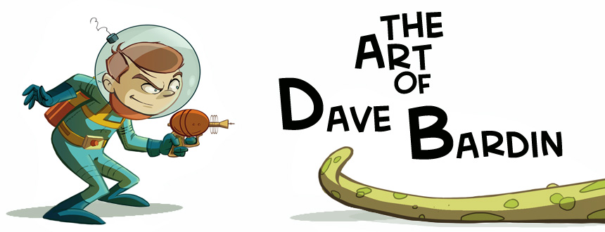 THE ART OF DAVE BARDIN