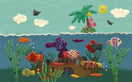 Plastilina selva es un fantástivo Live Wallpaper ( Fondo de