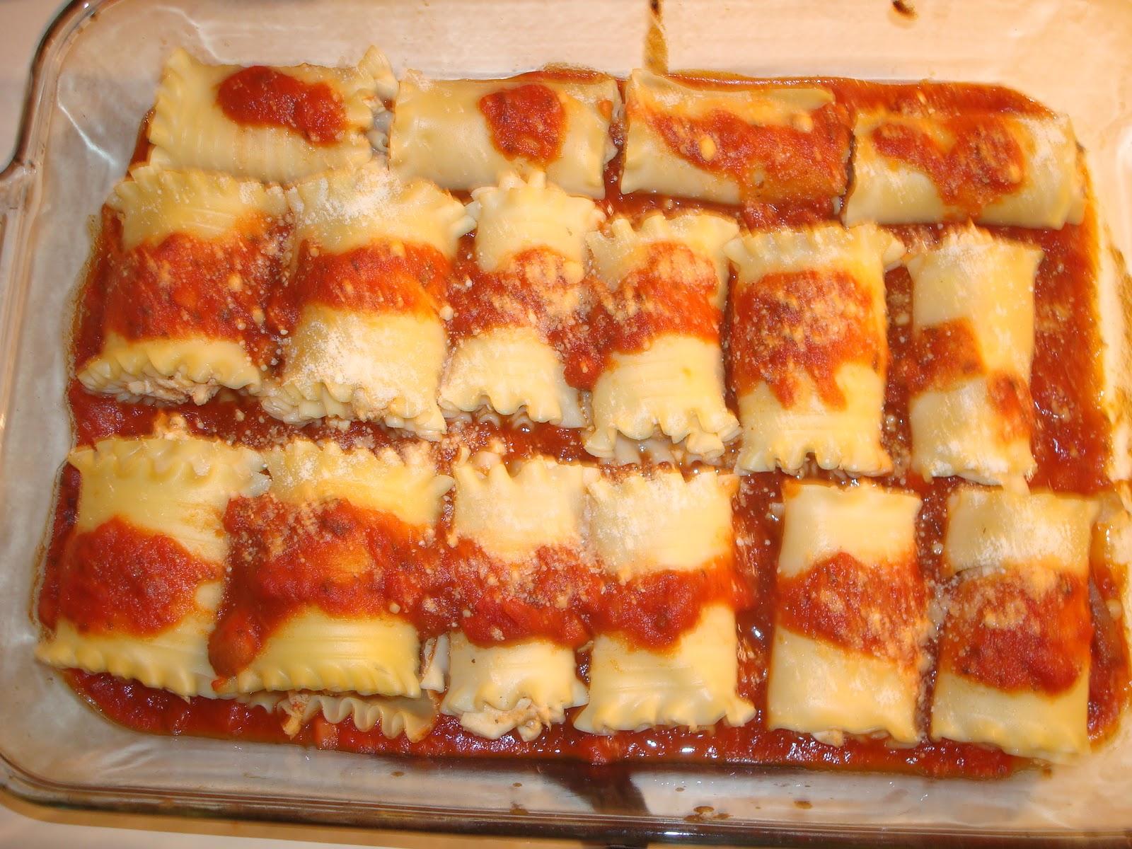 Chicken Lasagna Roll-Ups Recipes — Dishmaps