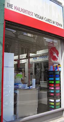 Ms. Cupcake Vegan Bakery in Brixton London